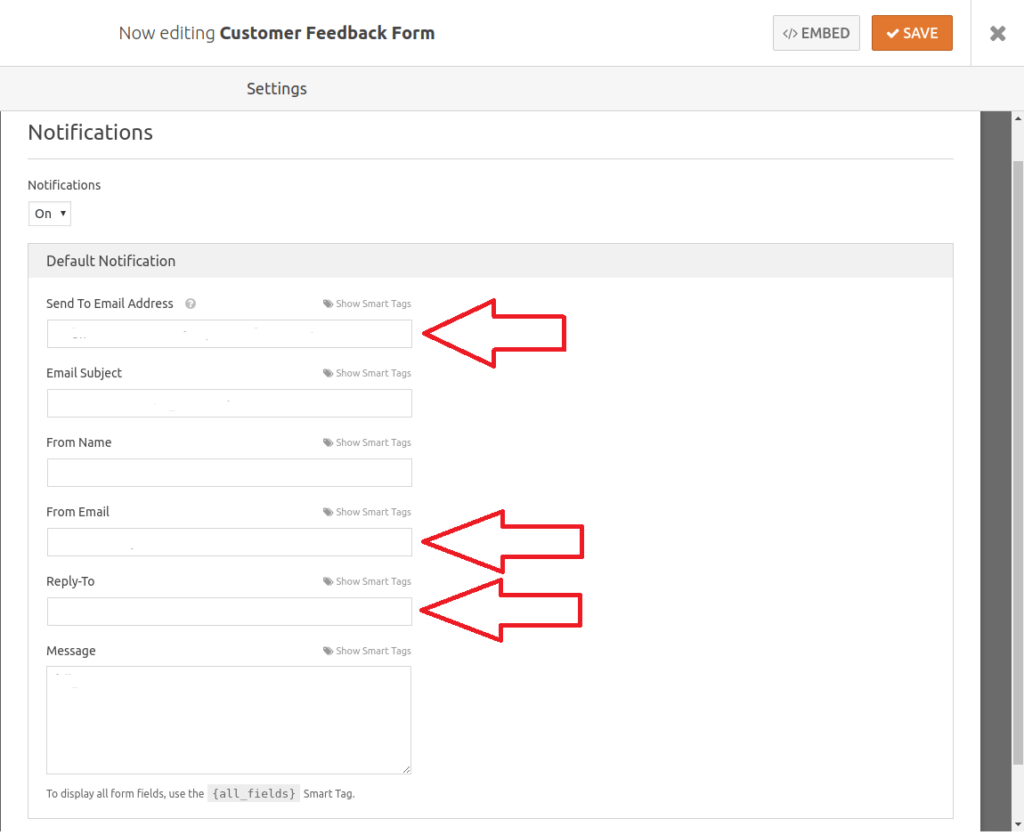 email configuration to fix wpforms not sending email, solve wpforms going to spam